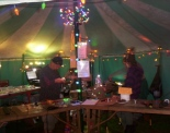 Our tent at Glastonbury
